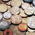 Монеты различного номинала