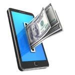 Доллары в смартфоне