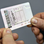 Образец водительских прав РФ