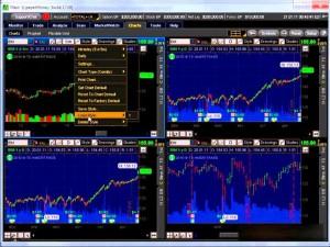акциями на бирже